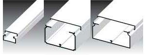 Канал пластмассовый LH 15x10 - 60x40 - 80x40