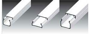 Короба для укладки кабеля LHD 17x17 - 20x10 - 20x20