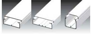 Короб для прокладки кабеля EK 100x40 - 120x40; EKE 60x60